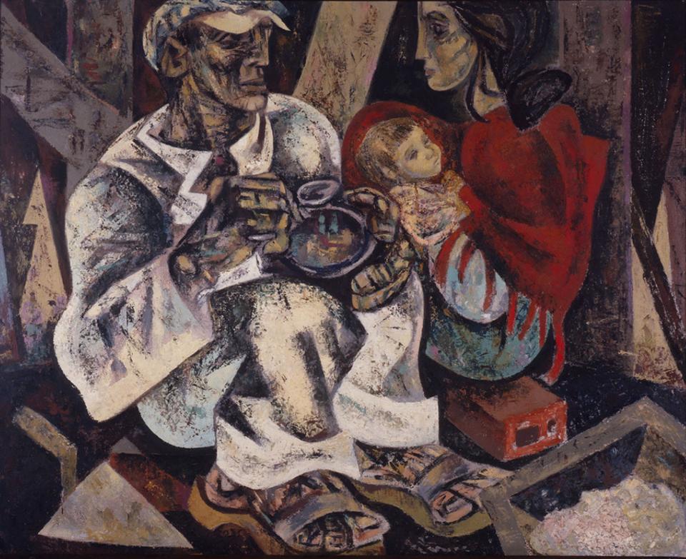 Júlio Pomar, Almoço do trolha